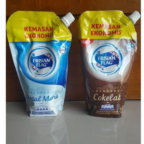 Foto Produk susu kental manis frisian flag pouch - Coklat dari vicsshop