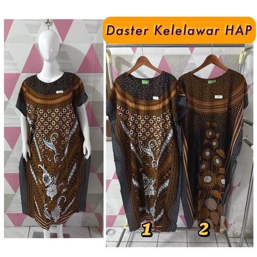 Foto Produk Daster/Longdress Kelelawar Jumbo HAP Sogan dari Batik mbak siti