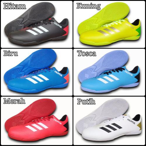 Foto Produk Sepatu Futsal Jumbo   Big Size Adidas 44-46 - Biru, 44 dari Raffa-Sport