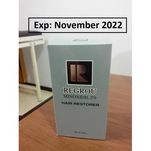Foto Produk Regrou 2% Penumbuh Rambut Wanita Regimen Ekonomis, KADALUARSA PANJANG dari Vellus Haircare