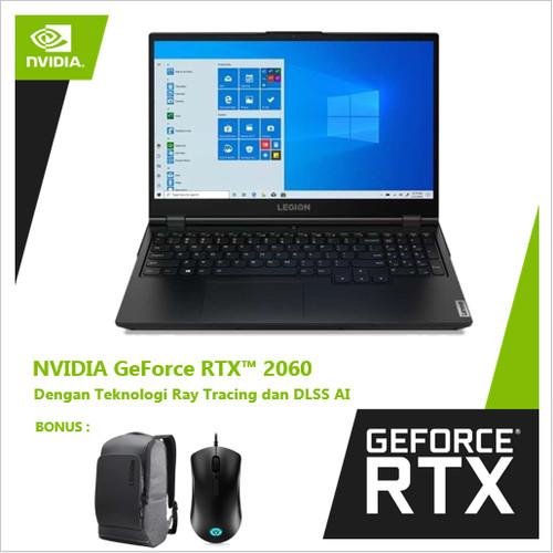 Foto Produk Lenovo Legion 5 A5ID GeForce RTX™ 2060 - 144Hz Ryzen 5 4600H 16GB - Black dari Nvidia Geforce Laptop