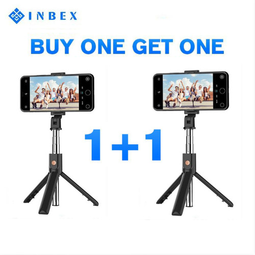Foto Produk 【2pc】INBEX K07 Tongsis/4 in 1 Bluetooth Selfie Stick/70cm Tripod dari INBEX Official Store