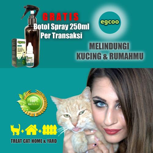 Foto Produk Obat Jamur untuk Kucing Alami EGCOO 15ml - Gratis Botol Spray 250ml dari Obat Kutu Kucing Alami