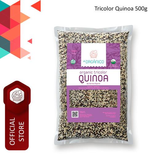 Foto Produk Tricolor Quinoa Organic El Organico 500gr dari ELorganico