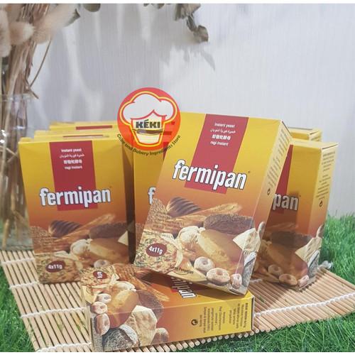 Foto Produk FERMIPAN ragi instan isi 4sachet @11gram dari KEKI Cake and Bakery Ingredients store