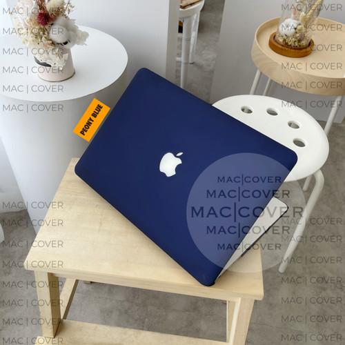 Foto Produk macbook case matte PEONY BLUE air pro retina new 11 12 13 15 inch dari MAC COVER