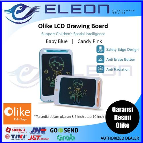 "Foto Produk Olike LCD Drawing Board 8.5 inch dan 10 Inch Blue / Pink Resmi Ori - 8,5"", Biru extrabuble dari ELEON"