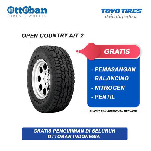 Foto Produk Ban Toyo Tires Open Country A/T 2 Ukuran 285/50 R 20 116 T dari ottoban indonesia