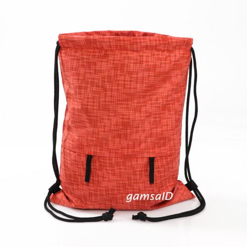 Foto Produk GYMSACK / TAS SERUT / DRAWSTRING / STRING BAG / TAS PRIA DAN WANITA - MOTIF ORANGE dari gamsaID