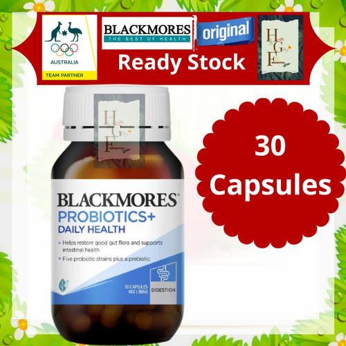Foto Produk Blackmores Probiotics+ Daily Health 30 Capsules dari Health Gallery Forrester
