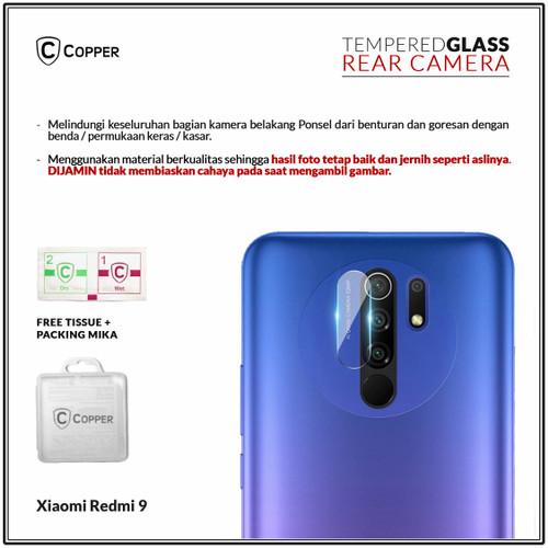 Foto Produk Xiaomi Redmi 9 - Copper Tempered Glass Kamera dari Copper Indonesia