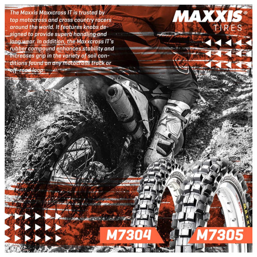 Foto Produk Ban Trail Motocross Maxxis 110/100-18 + 80/100-21 -- Paket Hemat dari Jawara Ban Sub
