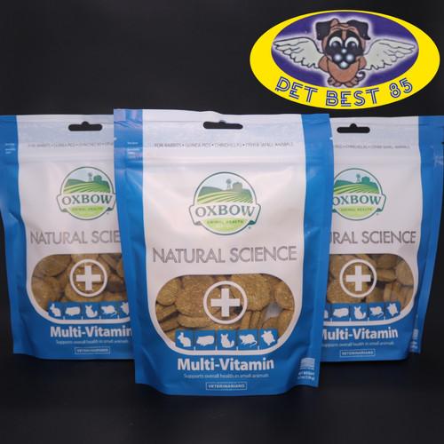 Foto Produk Oxbow Natural Science Multivitamin for Rabbit,Guinea Pig etc 120gram dari PET BEST 85