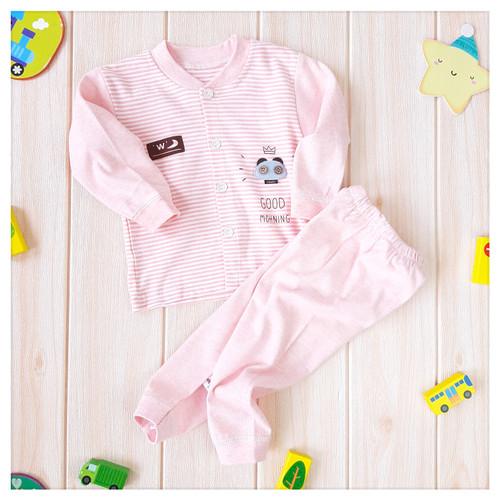 Foto Produk Baju Tidur Piyama Bayi/Anak 0 – 24M bahan katun kualitas PREMIUM - 6-9 bulan dari Store Addition