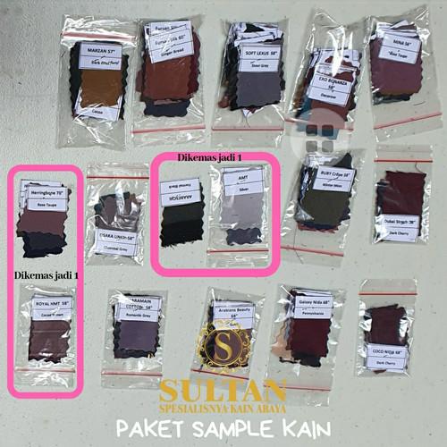 Foto Produk 1 PAKET SAMPLE WARNA KAIN SULTAN dari KAIN SULTAN OFFICIAL
