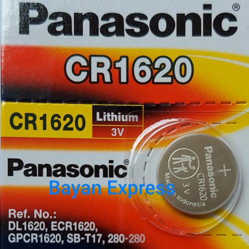 Foto Produk Batery / Baterai Panasonic CR-1620 / Lithium Battery CR1620 (Ori) dari Bayan Express