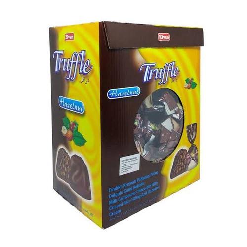 Foto Produk Coklat Truffle elvan Turky 2kg - Hazelnut dari kurmaonlinestore