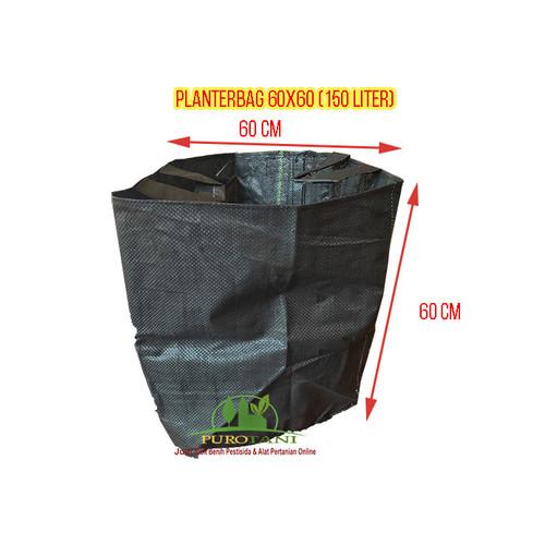 Foto Produk Planterbag 150 liter Hitam 60x60 cm dari Purotani.ID