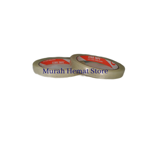 Foto Produk Isolasi / solasi 1/2 inch (12mm x 72 yard) MURAH, PROMOOO!!! SATUANN dari murah hemat store
