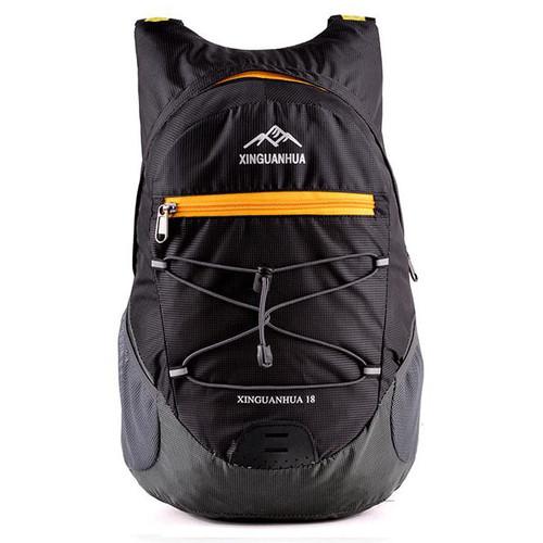 Foto Produk Xinguanhua Tas Gunung Lipat Hiking Camping Waterproof Backpack 17L - Hitam dari web komputindo