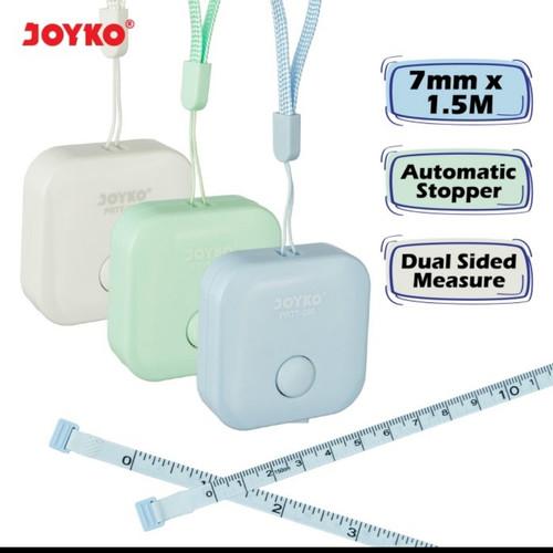 Foto Produk Pocket Ruler Meteran Jahit JOYKO PRTT280/Meteran Baju Badan 150cm dari ATK HOUSE