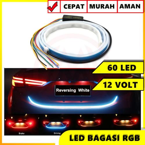 Foto Produk LAMPU LED TAIL TRUNK BAGASI BELAKANG ATRAKTIF RUNNING JALAN DRL RGB dari Modifikasi Market