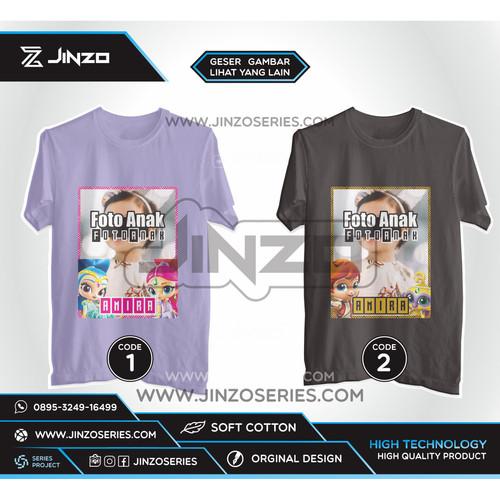 Foto Produk Kaos Anak Shimmer and Shine Foto dari Jinzo Series