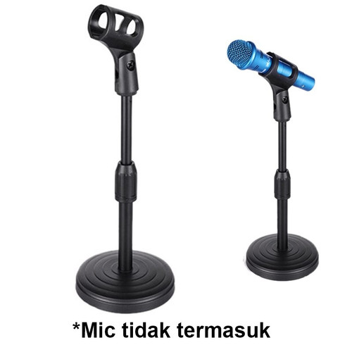 Foto Produk Stand Mic Holder - Stand Microphone Meja - Holder Mic dari PINZY Official Store