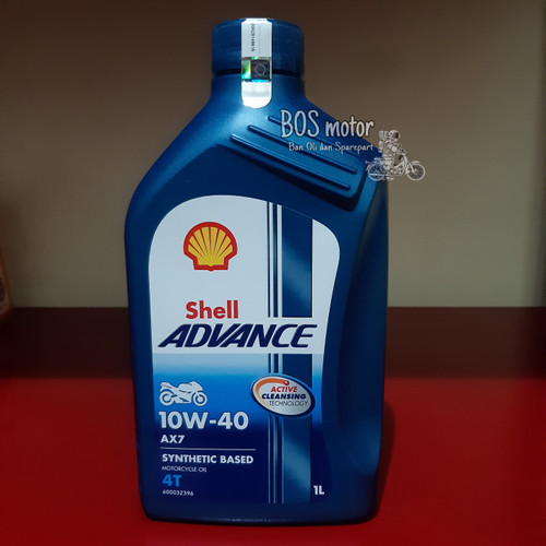 Foto Produk oli shell advance ax7 10w-40 1L dari BOS motor