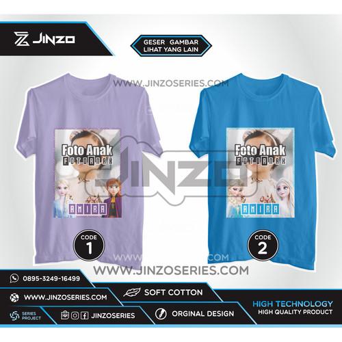 Foto Produk Kaos Anak Frozen Foto dari Jinzo Series