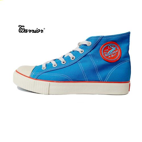 Foto Produk Sepatu Warrior Classic High Cut Blue turquoise - Biru Turkis dari yk raya