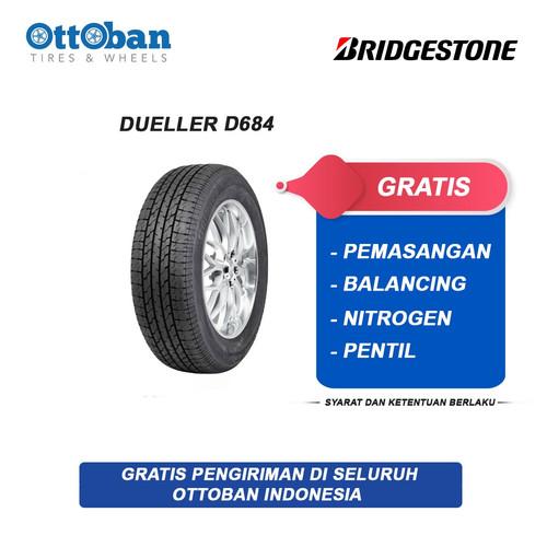 Foto Produk Bridgestone Dueler D-684 265 65 R17 Ban Mobil dari ottoban indonesia