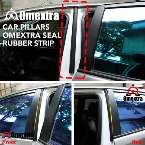 Foto Produk Peredam Suara Karet Pilar Mobil Omextra Car Pillar Seal Strip Pillars - PILAR SEALING dari OMEXTRA