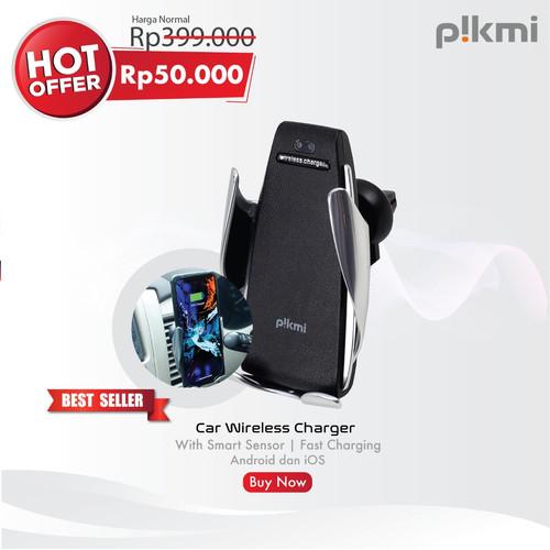 Foto Produk Pikmi Car Wireless Charger | With Smart Sensor | Fast Charging dari Pikmistore