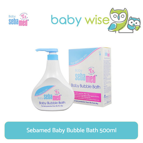 Foto Produk Sebamed Baby Bubble Bath 500ml dari Baby Wise