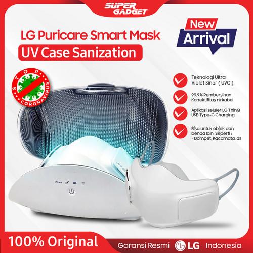 Foto Produk LG PuriCare Air Purifier UV Case Pembersih Udara Casing Cover Masker - White dari SUPER_GADGET
