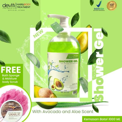Foto Produk Deviti Shower Gel Botol Alfocado & Aloe Scent 1L dari Deviti Indonesia
