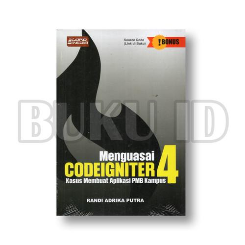 Foto Produk Buku Menguasai Codeigniter 4 - Kasus Membuat Aplikasi PMB Kampus dari Buku ID
