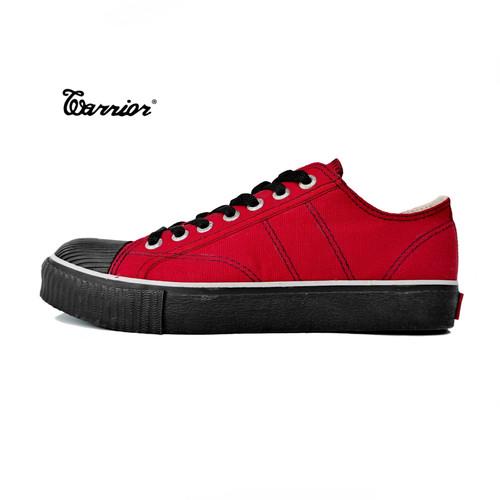Foto Produk Sepatu Warrior Classic Low Cut Merah Hitam dari yk raya