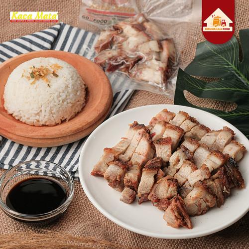 Foto Produk Babi Panggang Garing / Siobak / Crispy Pork Belly Frozen By Kacamata dari DirumahAjaFood - Jakarta Selatan