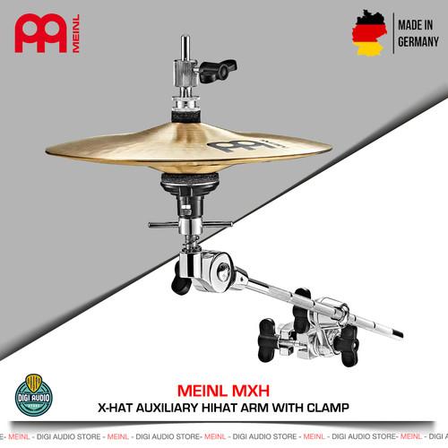 Foto Produk Meinl MXH Auxiliary Stand Hihat Cymbal Boom Arm with Clamp Hi Hat dari Digital Musik Indonesia