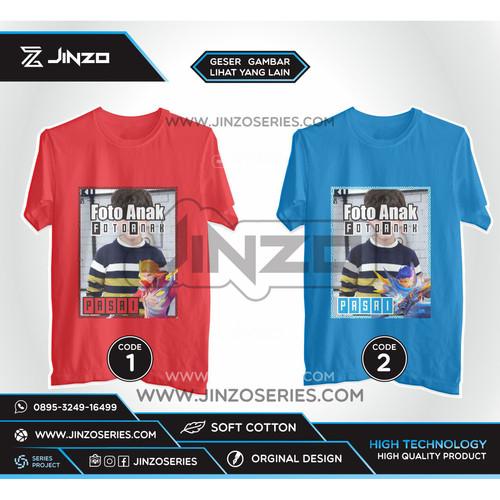 Foto Produk Kaos Anak Mobile Legends Foto Part 1 dari Jinzo Series