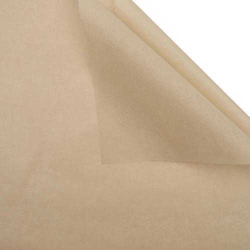 Foto Produk Kertas Bungkus Sepatu / Baju / Doorslag - Wrapping Paper (LEMBARAN) - 155 MILKY TEA dari Wood chip store