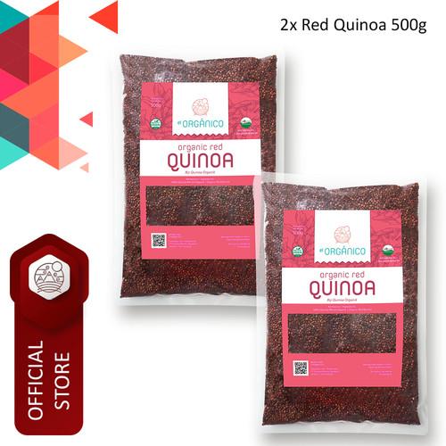 Foto Produk Red Quinoa Organic El Organico 500gr (Double Pack) dari ELorganico
