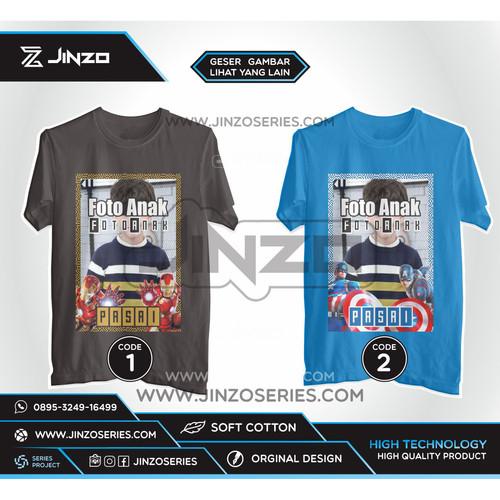 Foto Produk Kaos Anak Kaos Anak Marvel Hero Foto dari Jinzo Series