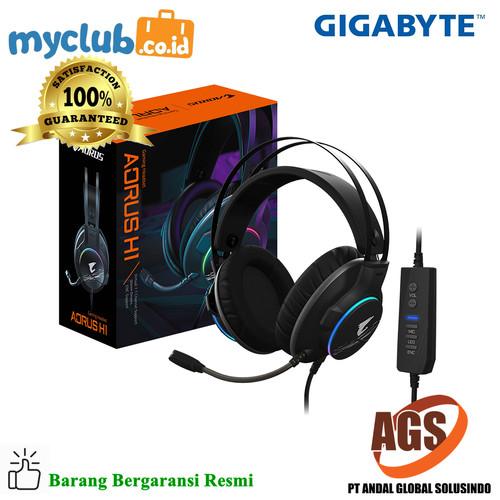 Foto Produk Gigabyte Gaming Headset AORUS H1 dari Myclub