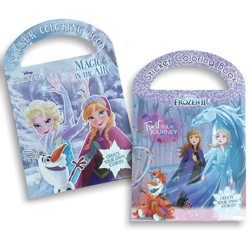 Foto Produk My Little Pony Sticker Coloring Book Adinata / Buku Sticker Buku Anak - FROZEN dari Om Botak