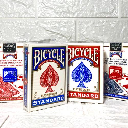 Foto Produk BICYCLE STANDARD PLAYING CARDS [Kartu Remi Impor Bycicle] SATUAN!!! dari cardstore23