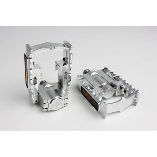 Foto Produk Pedal MKS FD-7 Silver MKS FD7 dari Bos Fik Store