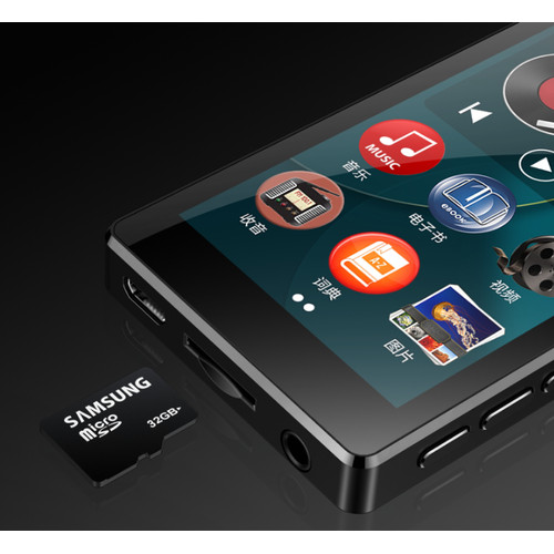 Foto Produk RUIZU D20 Video Player MP4 Touchscreen Audio Recorder dari Hokky Dokky
